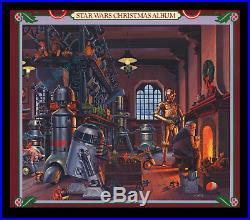 Star Wars CHRISTMAS IN THE STARS ALBUM MOVIE POSTER 1980 RALPH McQUARRIE ART
