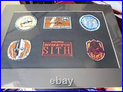Star Wars Cards Inc-12 Reproduction Movie Posters+6 Mounted Badges+ Lithograph
