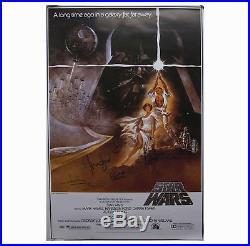 Star Wars Cast-Signed Movie Poster Celebrity Authentics