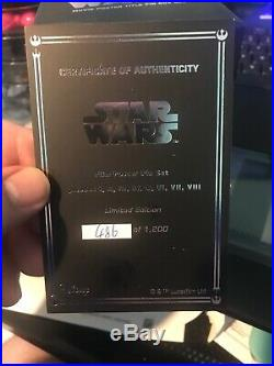 Star Wars Celebration Chicago Movie Poster Title Pin Box Set Trading Pins 2019