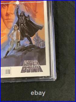 Star Wars Darth Vader Down #1 CGC 9.8 Vienna Movie Poster Variant 2016 Htf