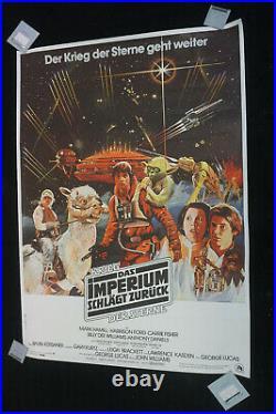 Star Wars Das Imperium schlägt Zurück original German Movie Poster DIn A0