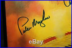 Star Wars Empire Poster Autographed by Carrie Fisher & Peter Mayhew Signed