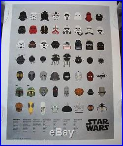 Star Wars Empire Stormtrooper 501st Droids Army art print movie poster