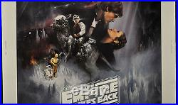 Star Wars, Empire Strikes Back, 1980 Orig 30x40 Gwtw Movie Poster Harrison Ford