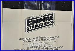 Star Wars Empire Strikes Back 1980 Orig 41x81 3-sheet Movie Poster Harrison Ford