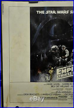 Star Wars, Empire Strikes Back 1980 Style A 22x28 Movie Poster Harrison Ford