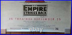 Star Wars Empire Strikes Back 40th Anniversary Theatrical Poster Double Sided
