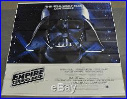 Star Wars, Empire Strikes Back 81x81 Nm 6-sheet Movie Poster 1980 Harrison Ford