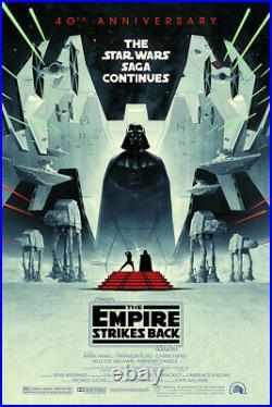 Star Wars Empire Strikes Back Alt Movie Poster by Matt Ferguson Bottleneck