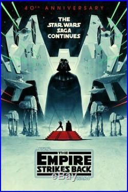 Star Wars Empire Strikes Back Alternative Movie Poster Matt Ferguson Bottleneck