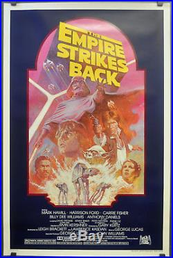 Star Wars, Empire Strikes Back R-1982 Orig 27x41 Nm Rolled Movie Poster