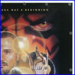 Star Wars Episode 1 The Phantom Menace 1999 SS Original Movie Poster 27 x 40