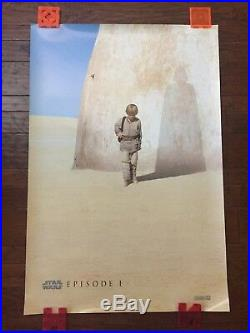 Star Wars Episode I -#A (1999) Authentic One Sheet D/S Movie Theater Poster