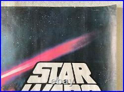 Star Wars Episode IV A New Hope Original Awards Version 1977 Quad Poster