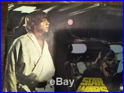 Star Wars Extremely Rare Vintage Original Movie Poster In Spanish 1977