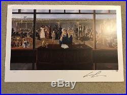 Star Wars George Lucas Signed Lithograph Print Auto Autograph PSA DNA Poster 900