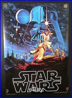 Star Wars Hildebrandt Brothers Factors Store Original 20x28 Poster Movie 1977
