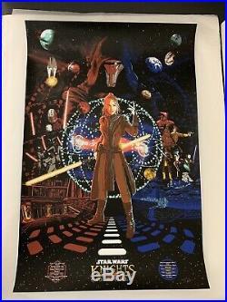Star Wars Knights Of The Old Republic Screen Print Game Poster RAID71 KOTOR