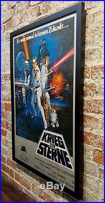 Star Wars Krieg Der Sterne-Original 1977 German Movie Poster