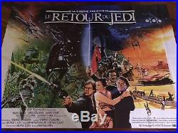 Star Wars / Le Retour Du Jedi / Return Of The Jedi / 198x149 / Affiche / Poster