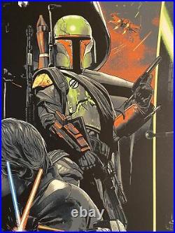 Star Wars Movie Poster #55 Art The Empire Strikes Back Gabz Luke Skywalker mondo