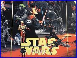 Star Wars Movie Poster #62 Art The Empire Strikes Back Gabz Luke Skywalker mondo