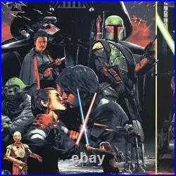 Star Wars Movie Poster #66 Art The Empire Strikes Back Gabz Luke Skywalker mondo