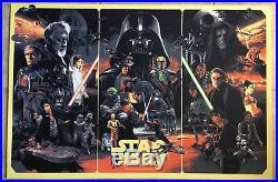 Star Wars Movie Poster #97 Art The Empire Strikes Back Return Of Jedi Gabz Mondo