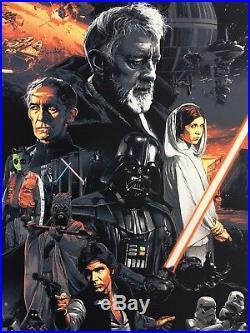 Star Wars Movie Poster Art #82 The Empire Strikes Back Return Of Jedi Gabz mondo