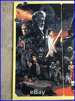 Star Wars Movie Poster Art #91 The Empire Strikes Back Return Of Jedi Gabz Mondo