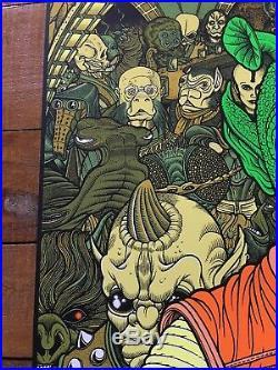 Star Wars Movie Poster Mondo Art Print Han Shot First Greedo Florian Bertmer New