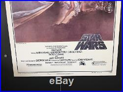 Star Wars Movie Poster One Sheet Style A, 1977 27 x 41