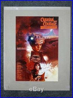 Star Wars Movie Poster Production Studio Caravan of Courage An Ewok Adventure
