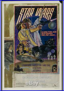 Star Wars Movie Poster Style D One Sheet Vintage Poster 1977