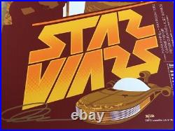 Star Wars Movie Poster art print 36/250 Acme Mark Daniels SDCC NYCC mondo