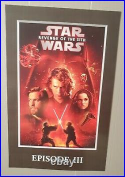 Star Wars Movies Collector's Posters (17x11)