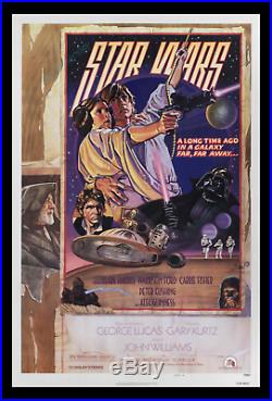 Star Wars NSS D ROLLED NEVER-FOLDED MOVIE POSTER 1SH NOT SUPPOSED TO EXIST