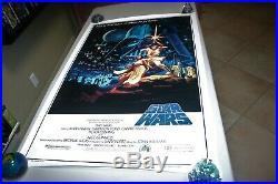Star Wars Original 15th Anniversary Movie Poster Hildebrandt Near Mint