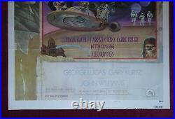 Star Wars Original Movie Poster 1sh 1977 Style D Circus Style Vintage