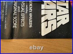 Star Wars Original Movie Quad UK Film Poster 1978