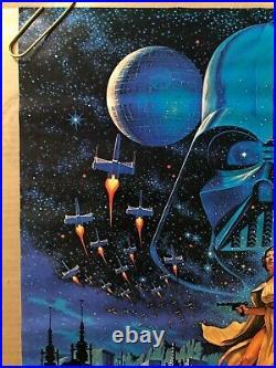 Star Wars Original Vintage Movie Poster Hildebrandt 1977 Factors Fox Film Movies