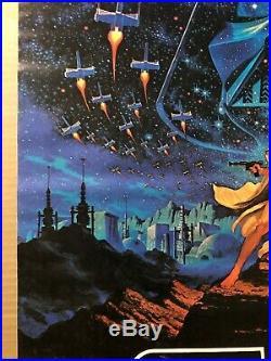 Star Wars Original Vintage Movie Poster Hildebrandt 1977 Factors Fox Film Pin-up
