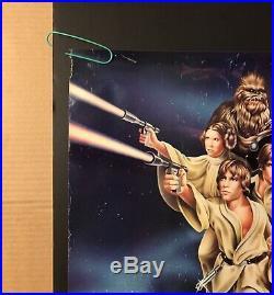 Star Wars Original Vintage Movie Poster Pin-up Hilderbrandt 1978 Fox Factors