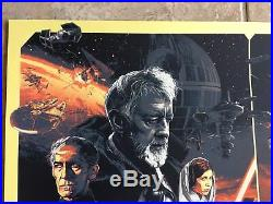 Star Wars Poster Art #75 The Empire Strikes Back Return Of Jedi Gabz SDCC Mondo