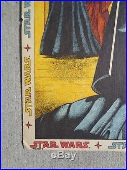 Star Wars Poster Store Display 1978 Twentieth Century Fox-Film Corp. Rare