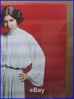 Star Wars Princes leia 1977 Vintage Poster movie Inv#G3113
