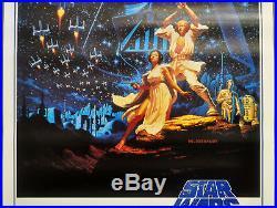 Star Wars R-1992 Orig 27x41 B Rolled Movie Poster 15th Anniversary