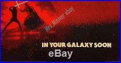 Star Wars RETURN OF THE JEDI 1982 BRITISH QUAD ROLLED MOVIE POSTER REVENGE