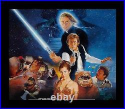 Star Wars RETURN OF THE JEDI 27x41 ONE-SHEET! NearMINT ROLLED MOVIE POSTER